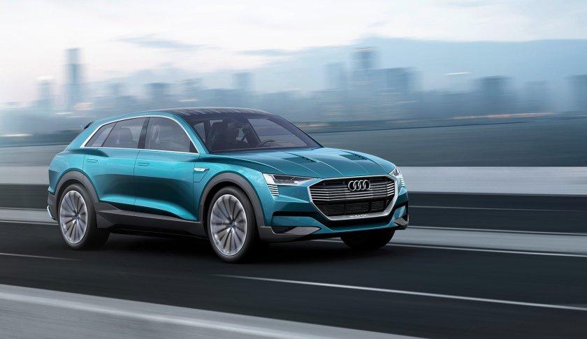 Imagen del Audi eTron Quattro Concept