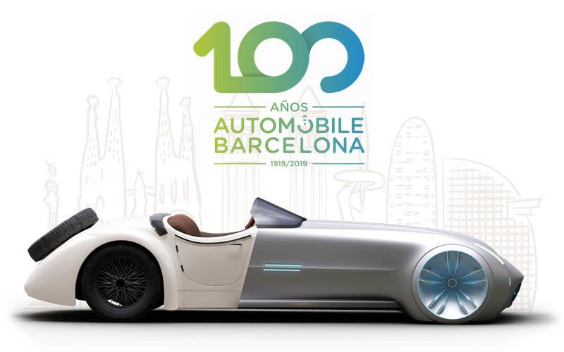 Pancarta publicitaria Automobile Barcelona