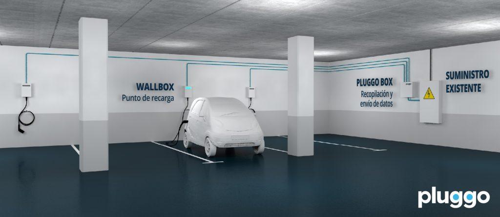 Instalación comunitaria cargador coche eléctrico